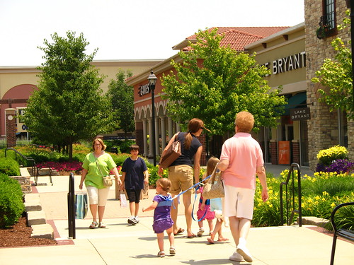 Strip Mall/ Leashed Child by Consumerist Dot Com, on Flickr