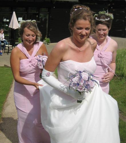 Bride at Dundonald Castle