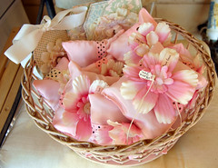 Lily of the Valley Sachets..... (fleamarketstudio) Tags: flowers wedding home handmade crafty finds favors sachets homelife shabbychic