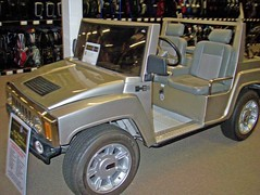 Hummer Golf Cart - PGA Golf Superstore, Roswell, GA