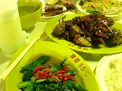 Black Pepper Crab at Newton Food Centre