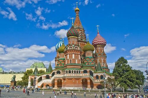 קתדרת ואסילי ליד הכיכר האדומה, מוסקבה