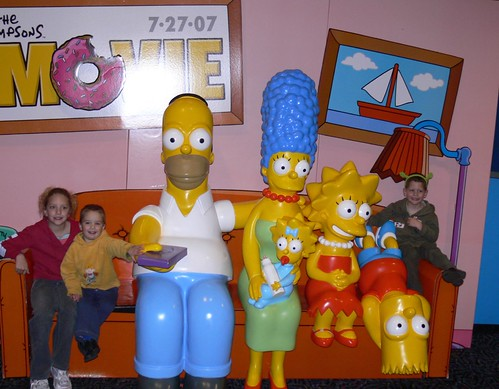 The Simpsons Family + Mine