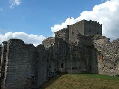 Portchester Castle (strife) Tags: castle fort keep portchester