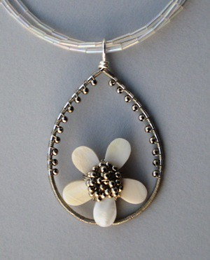 blooming pendant