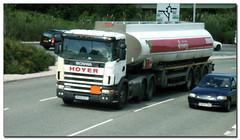 Hoyer - Esso 7812 RX03EUT (didbygraham) Tags: truck esso tanker fuel scania hoyer reg03 fuelfleet