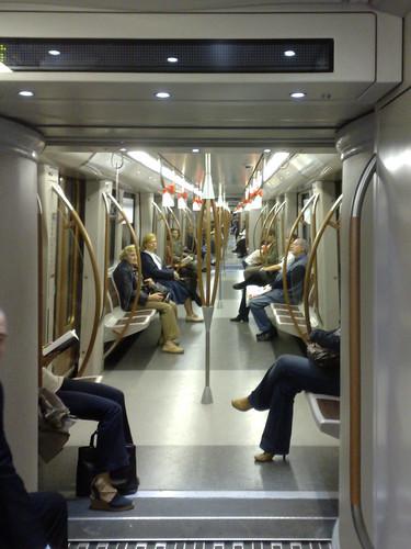 Metro zo ver als het oog reikt