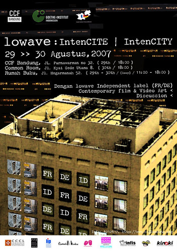 IntenCity: Lowave Poster