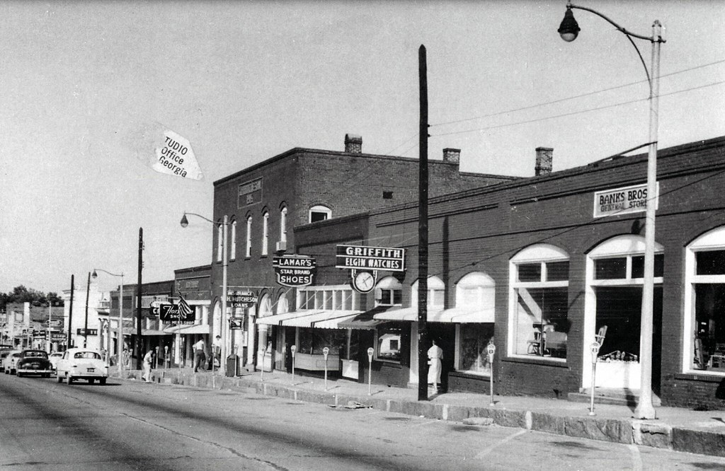 Downtown Douglasville - 1950s