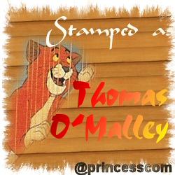 Thomas O' Malley Stamp