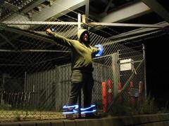 Bondage (The Path of Light) Tags: city night long exposure slowshutter aalborg nytorv lightscribe lightgrafitti