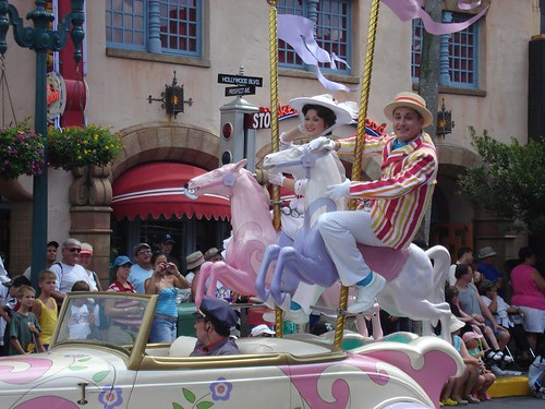 Disney Stars and Motor Cars Parade
