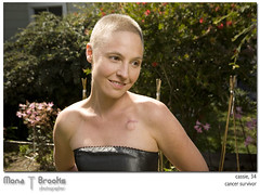 Cancer survivor at 34 (SFMONA) Tags: portrait port hearts backyard bald cassie cancersurvivor remission
