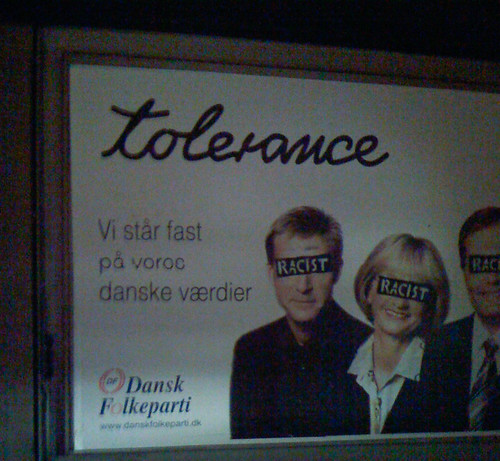 Dansk Folkeparti - Tolerance