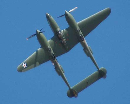 "Warbird picture - P-38 ""Glacier Girl"""