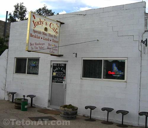 Judy's Cafe in Oakley, Idaho