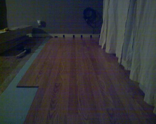 Wood Laminate Installation