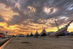 sunda kelapa @ sunset