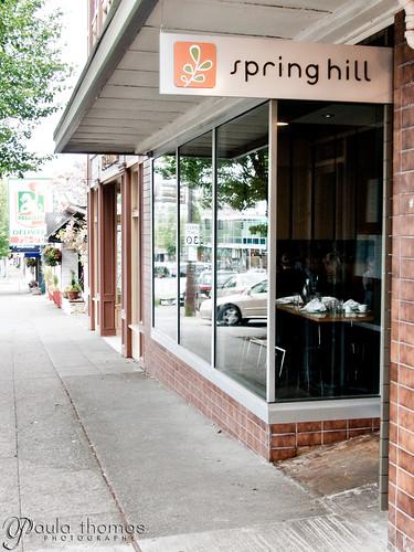 spring hill restaurant