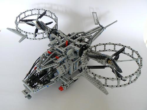 Lego Avatar helicopter 02
