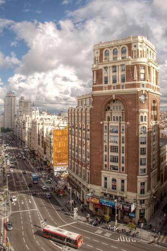フリー写真素材, 建築・建造物, 都市・街, 高層ビル, スペイン, マドリード,