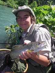 William enters the ShastaTrout Hawg of Fame with a McCloud River trophyBrown Trout