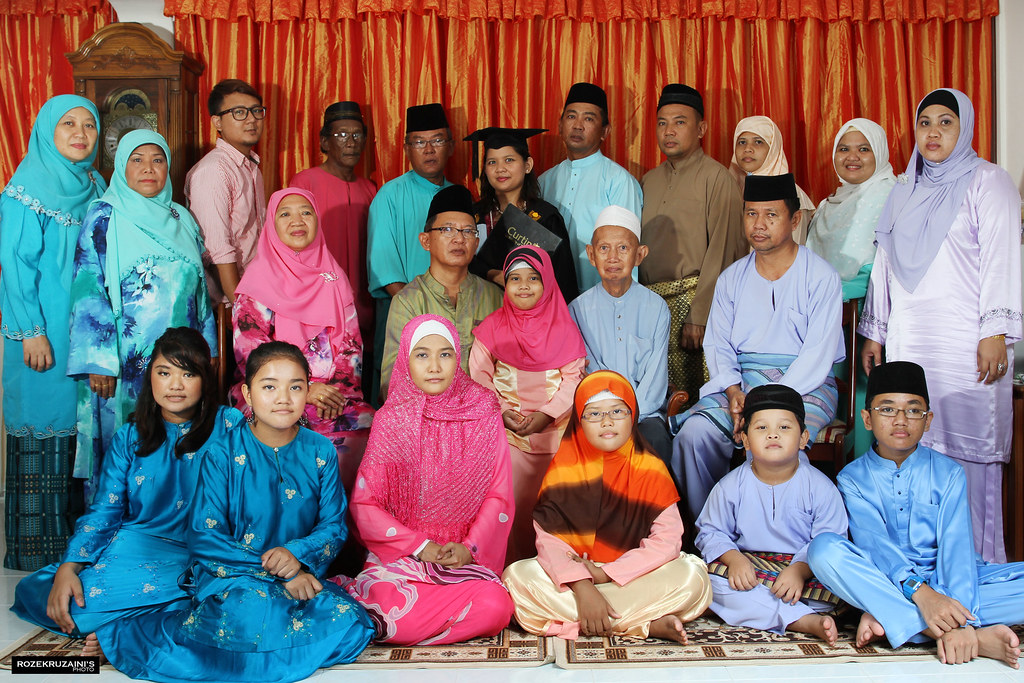 Haji Senin family