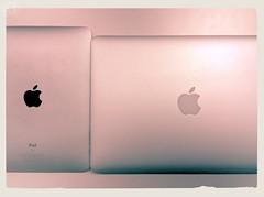 iPad and MacBookAir13