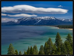 Heavenly Lake Tahoe (Tony Immoos) Tags: california trees sky mountain lake water clouds landscape tahoe laketahoe landmark olympus explore pa e3 sierranevada circularpolarizer 1000views eldoradocounty thearchives californialandscape happyhours zd zuikodigital 1260mm olympuse3