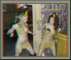 Cancun Cantina - Halloween '10 (starg82343) Tags: party woman cute sexy halloween window beautiful lady female bar club fun costume stereoscopic 3d outfit fight md pretty slim adult skin gorgeous indian brian border adorable makeup floating dressup maryland anaglyph indoors stereo fantasy linda bow frame wallace inside arrow brunette hanover staged delectable playful spunky loincloth bartenders servers built fw skimpy lucious pretend joh stereoscopy stereographic brianwallace stereoimage harmons adultplay cancuncantina stereopicture