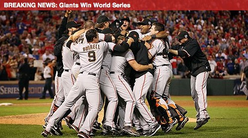 Giants Win Series
