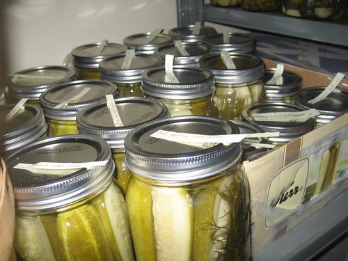 Pickles in my Pantry