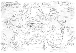 Die Googleland Karte