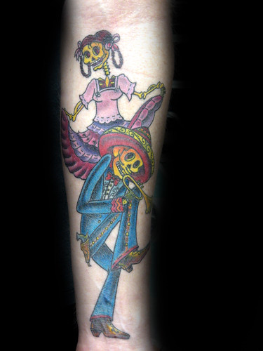 galeria de tattoo. Dia de los Muertos Tatuaje