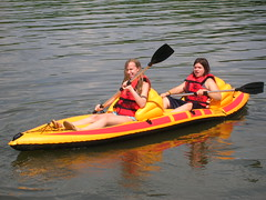 Girls on the Kayak