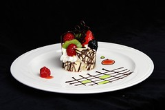 plated desserts 034 (Amber *) Tags: dessert mouse strawberry berries chocolate mango rc granita foodblog plateddessert plateddesserts suaces platepainting renaissanceculinaire plateddessertsset