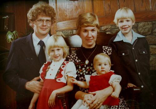 My family in 1976/77
