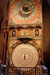 Astronomical Clock in Lund Cathedral (dindrigo) Tags: travel lund clock europe cathedral sweden scandinavia oldcity scania horologium mirabi