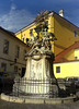 Frigyláda-szobor / Statue of Ark of the Covenant (ssshiny) Tags: statue hungary szobor magyarország győr 230countrieshungary frhwofavs frigyládaszobor