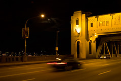 Burrard St. bridge (Mark Demeny) Tags: leica vancouver lowlight m8 115 summicron35mmf2 leicam8
