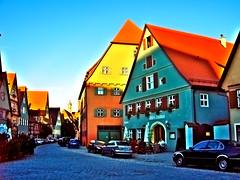 Weibs Brauhaus (gatowlion) Tags: bayern strasse franken brauhaus brauerei dinkelsbühl romantische wirtshaus weibs
