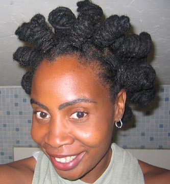 Bantu Knots For Long Natural Hair