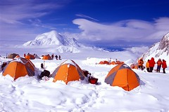 14K Camp (photo61guy) Tags: camping alaska clouds vivid climbing mountaineering denali nikonn80 fujivelvia100 vob worldbest colorphotoaward superaplus aplusphoto superhearts excellentphotographerawards flickrelite theunforgettablepictures 75faves concordians colourartaward vividmasters artlegacy excapture betterthangood theperfectphotographer bestofwinter spiritofphotography thechallengefactory alemdagqualityonlyclub paololivornosfriends saariysqualitypictures mountainsociety givemefive aboveandbeyondlevel1