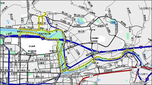 基隆河畔單車道
