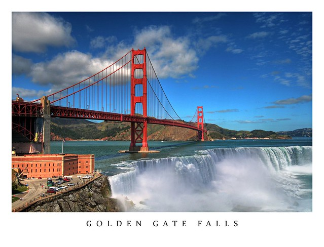 Golden Gate Falls