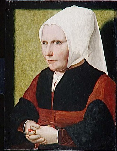 Unknown woman by Jacobsz Dirk (fl.1500-1567)