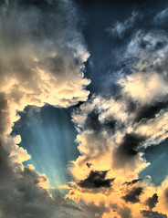 Sunset (TheSki) Tags: sunset color art nature beautiful clouds contrast digital america austin photography design cool exposure texas fuji dynamic angle artistic divine photograph american stunning s7000 americana popular technique hdr hdri atx artisitic bestshot flickrhits theski davidgaiewski texasthunderstorms austinartbeautiful