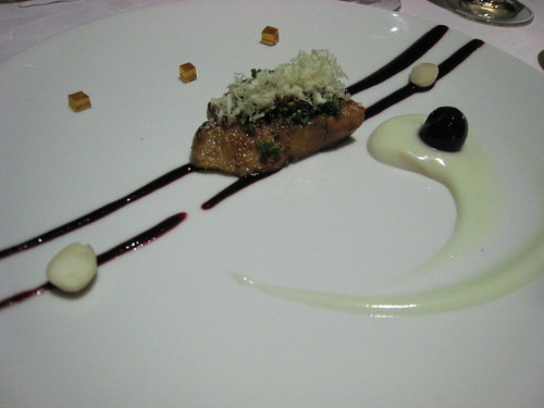 Another view of the roast foie gras