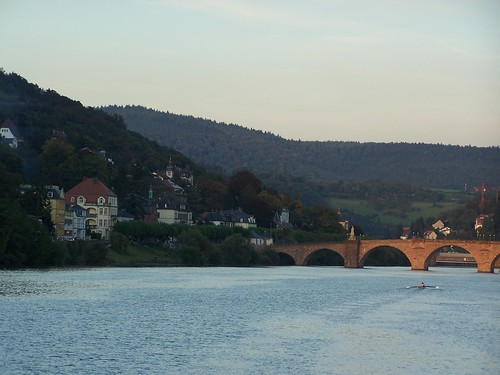 Old Town Bridge over Neckar