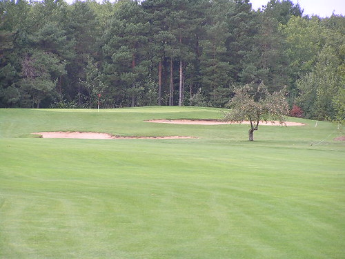 3rd hole, Heathlands Golf Course, Onekama, Michigan